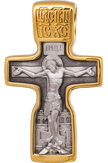 Крест на старословянском языке